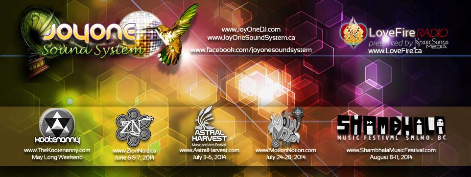 JoyOne 2014 Festivals